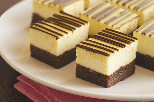 Brownie cheescake