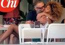 Vincent Cassel vacanze in famiglia con Tina Kunakey